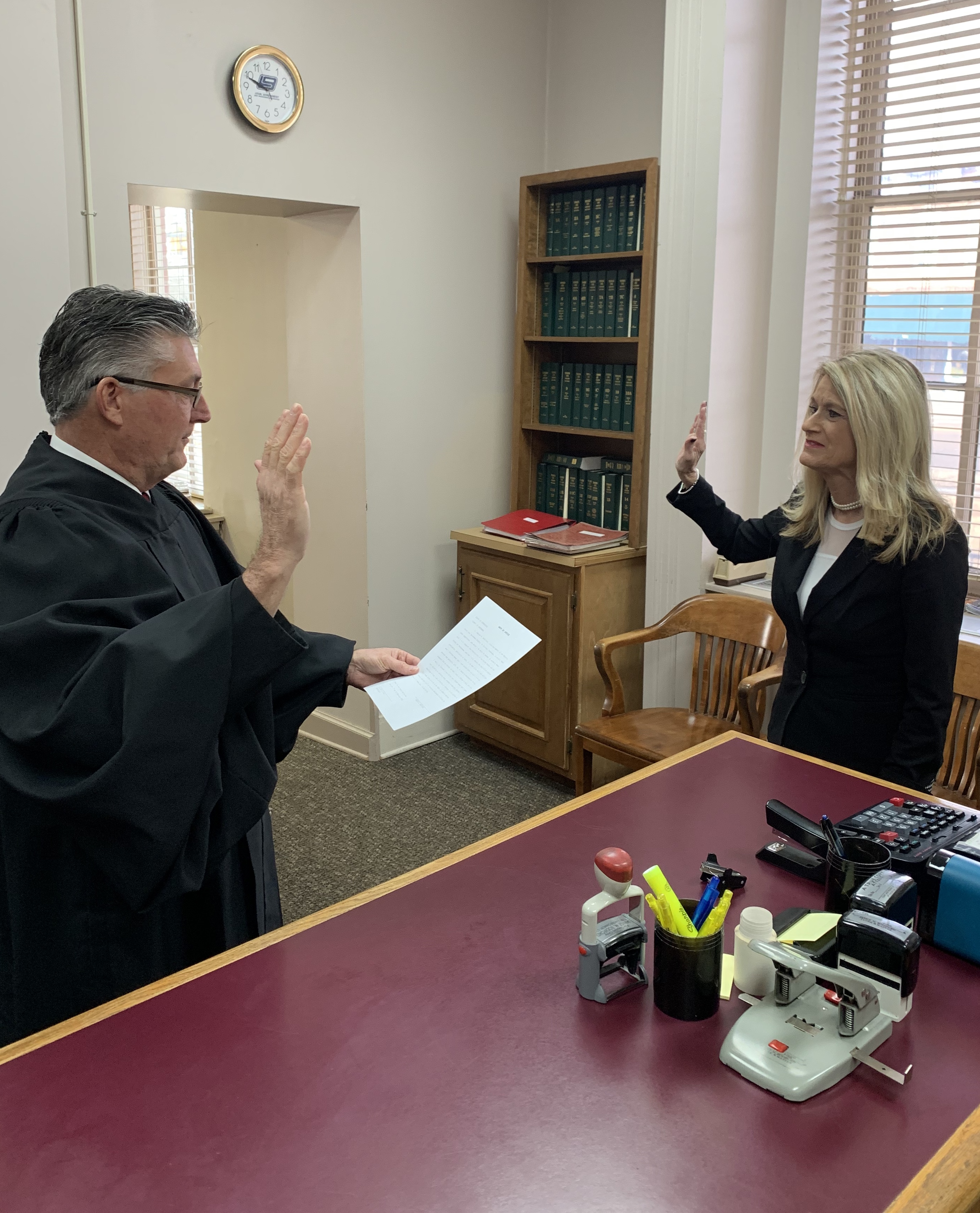 Bodiford Takes Oath of Office